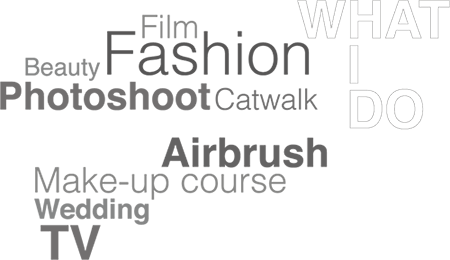 Photoshoot, Fashion, TV, Beauty, Film, Catwalk, Wedding, Airbrush, Make-up course